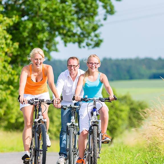 Radfahren in der Umgebung von Hornburg