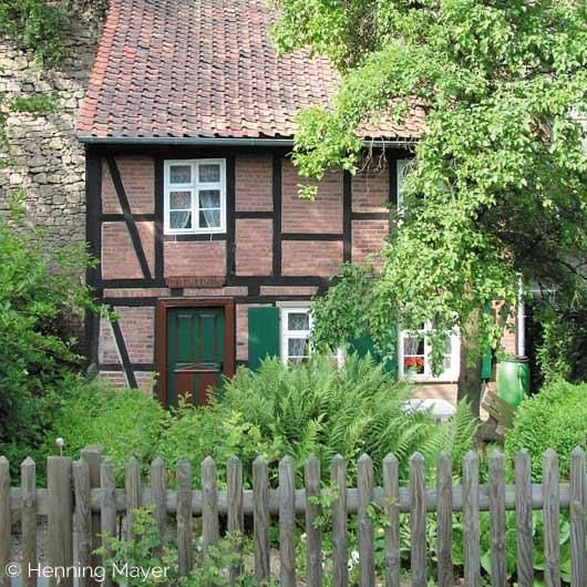 Biedermeyerhaus in Hornburg