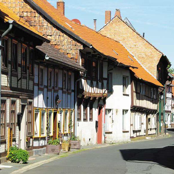 Strasse durch die Fachwerkstadt Hornburg