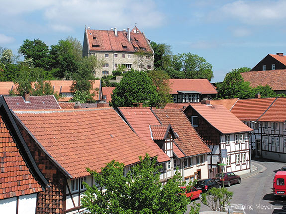 Burg Hornburg im Vorharz