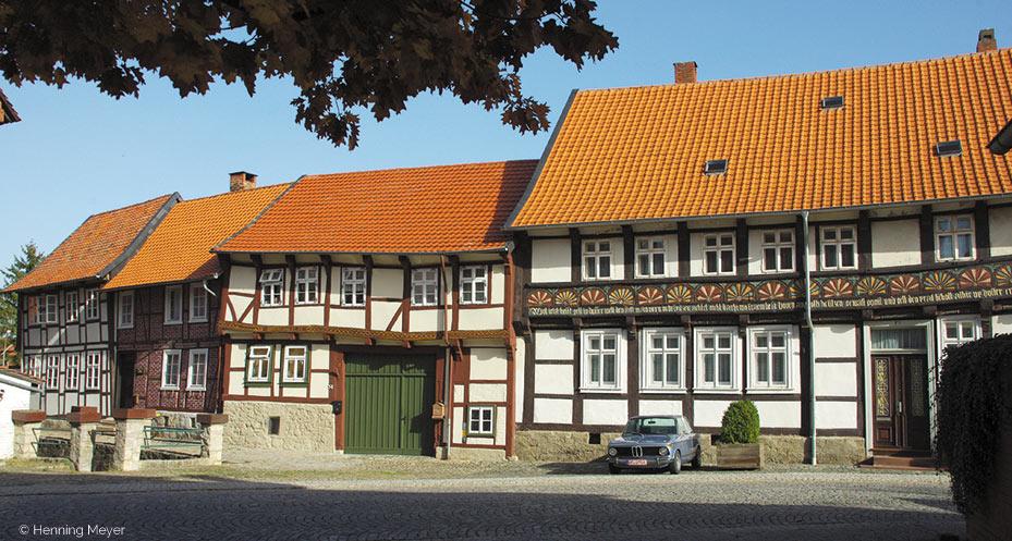 Stadtansicht von Hornburg